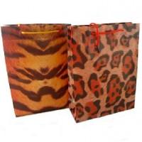 Пакет подар PVC 18*24*8см ГЕПАРД(1/12)4диз10790-1