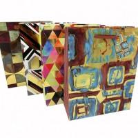Пакет подар 26*32*10см Нейтральный(1/12/384)4дизHU1108-1