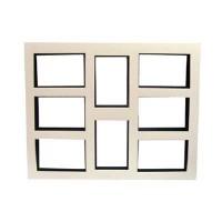 Паспарту картон белое,черное  8 фото 10*15 (100)
