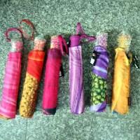 Зонт-полуавтоматSUSINO ЦВЕТОЧНЫ ПРИНТ D60см складной резина+пластик ручка(1/12)73980