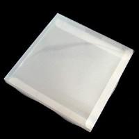 Коробка д/тарелки 21*21*2,2 Прозрачная(1/500)
