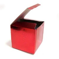 """Коробка подарочная д/кружки голография """"Красная""""(1/300)ZZMLW"""
