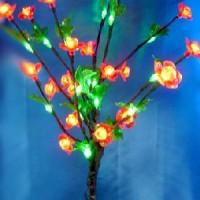 Лампа декоративная ЦВЕТЫ 40 светодиодных ламп(40)от сети220В