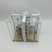 Кашпо декор металл22*22cm(12)2018-4B