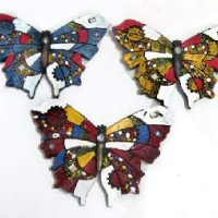 "Декоративное украшение ""Бабочка"" 16x20x3 cm LА011А1-3/S"