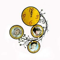 Часы ВИНТАЖ  настенные, металл-дерево размер 50*50 см, 3 фото D -14 см. часы D- 18 cm.
