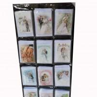 Набор открыток+конверт120шт СВАДЬБА TYZP-1(60)