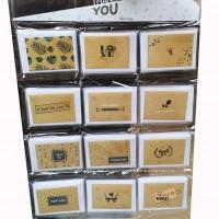 Набор открыток+конверт 120 шт КРАФТ TYZP-2(60)