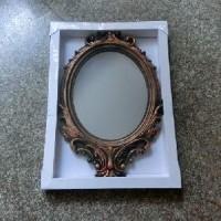 Зеркало подвесное пластик 8350G  d cm(1/16)