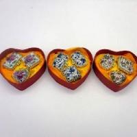 Набор шкатулок из 3-х керамика1.5-Three(288)