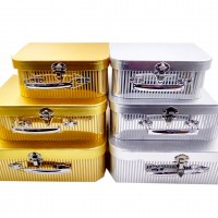 Набор коробок подар из 3шт картон22*30*9cm 10412-STGS(24)