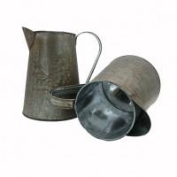 Кашпо декорат КУВШИН металл 19*14*10 (64)QX-1760247