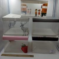 Коробка подарочная 17х24х24 см / пластик  10793-6